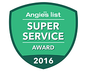 Mercer County NJ Air Duct Cleaning Angie's List Super Service Award 2016