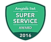 Ocean County NJ Air Duct Cleaning Angie's List Super Service Award 2016