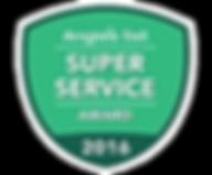 Monmouth County NJ Angie's List Super Servcie Award 2016