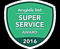 Middlesex County NJ Angie's List Super Servcie Award 2016
