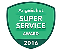 Hunterdon County NJ Air Duct Cleaning Angie's List Super Service Award 2016