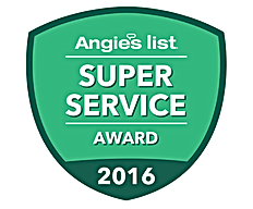 Somerset County NJ Air Duct Cleaning Angie's List Super Service Award 2016