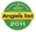 Hunterdon County NJ Air Duct Cleaning Angie's List Super Service Award 2011