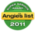 Somerset County NJ Air Duct Cleaning Angie's List Super Service Award 2011