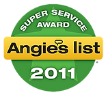 Mercer County NJ Air Duct Cleaning Angie's List Super Service Award 2011