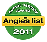 Lakehurst NJ 08733 Air Duct Cleaning Angie's List Super Service Award 2011