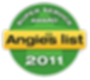 Monmouth County NJ Angie's List Super Servcie Award 2011