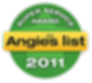 Middlesex County NJ Angie's List Super Servcie Award 2011