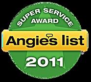Middlesex County NJ Angie's List Super Servcie Award 2011