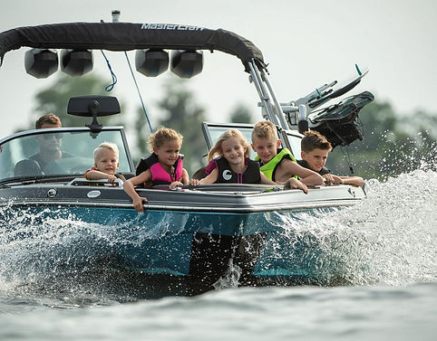 Wakeboard and wakesurf summer camp for campers ages 7-17.