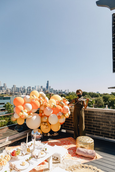 Details Chicago Rooftop Brithday Party 1