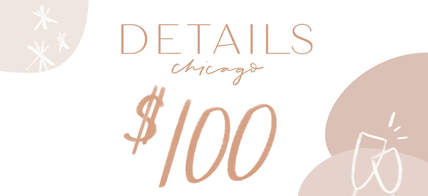 Details Chicago Gift Card–$100