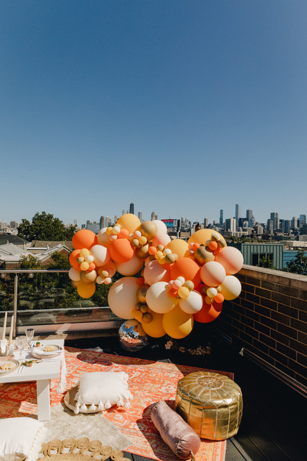 Details Chicago Rooftop Brithday Party 7