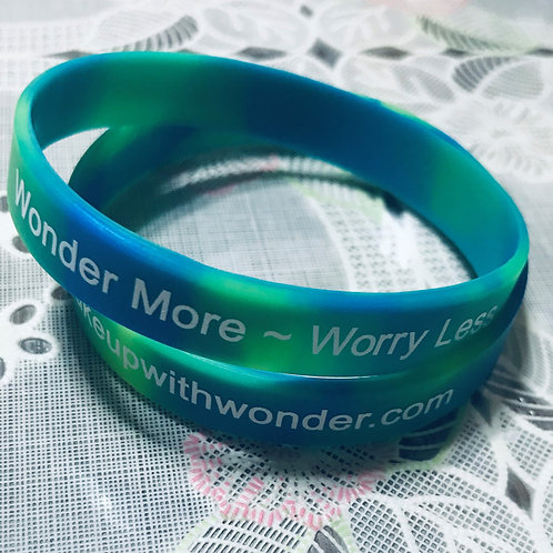 Wonder More Worry Less Bracelet (Challenge)