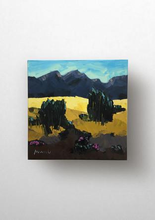 Kleine Berglandschaft