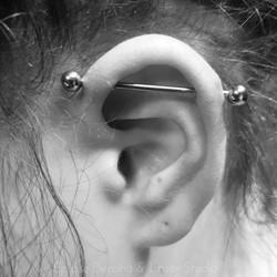 Scaffold piercing