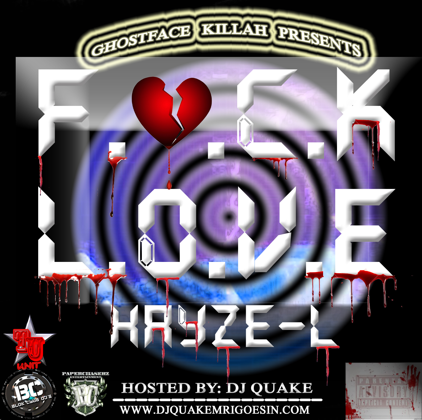 HAYZE - L F LOVE FRONT COVER