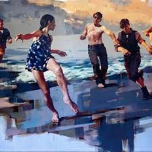 Figurative painting with Costa Dvorezky, 25-29 May 2020