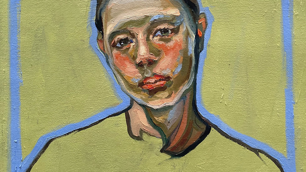 Line and Color Portrait Painting with Agnes Grochulska
