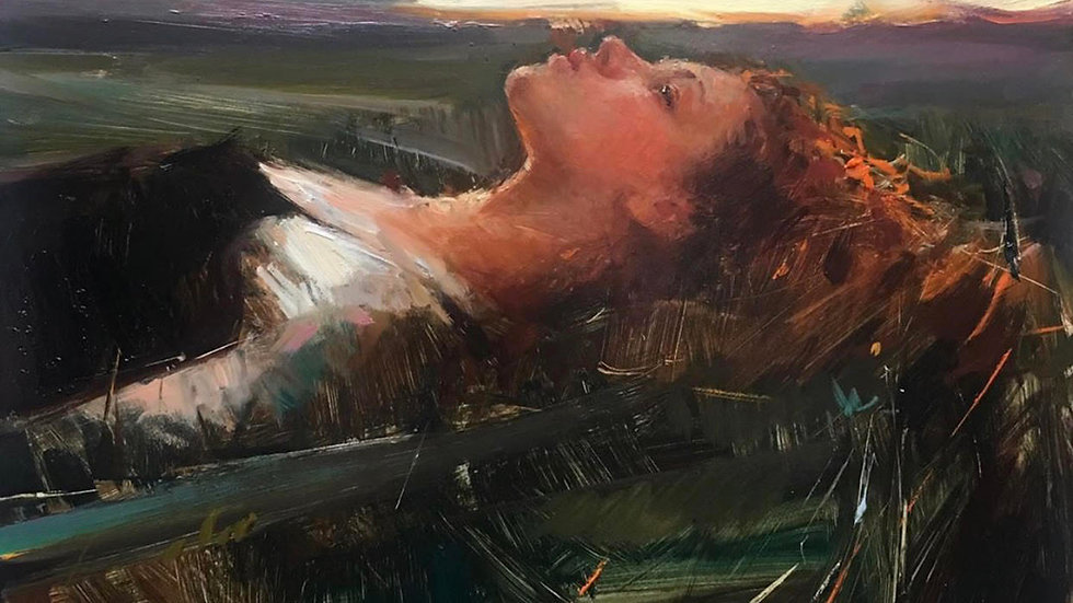 Figurative painting in oil with Olga Krimon