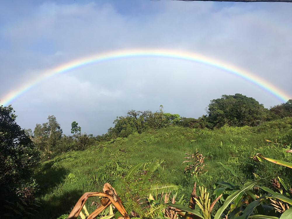 Rainbow along the Road to Hana, Maui