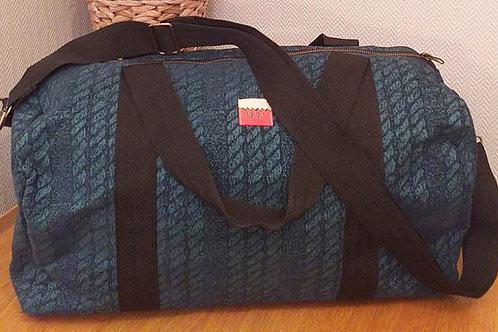 Cable Stripe Weekend Bag