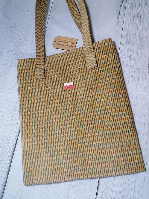 Long Domino Tote Bag