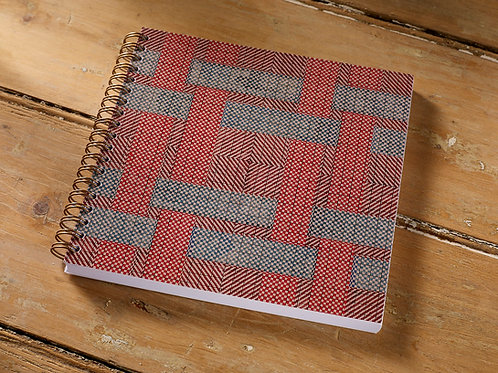 Twill Greeting Notebook