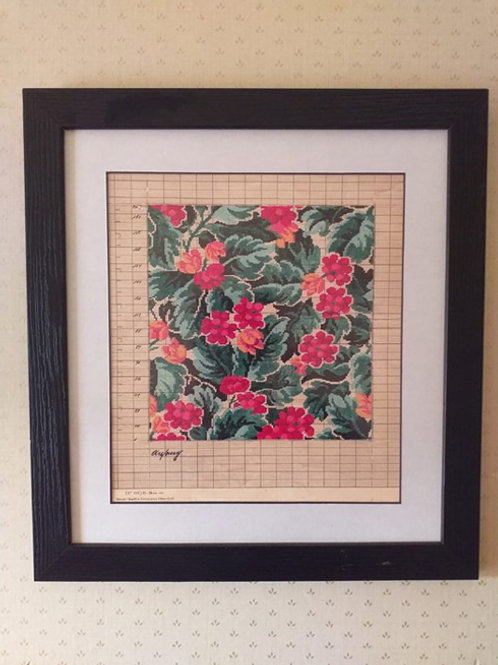 Square Floral Point Paper