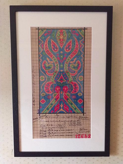 Aztec 3 Blue Point Paper