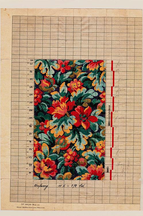 Long Floral Point Paper