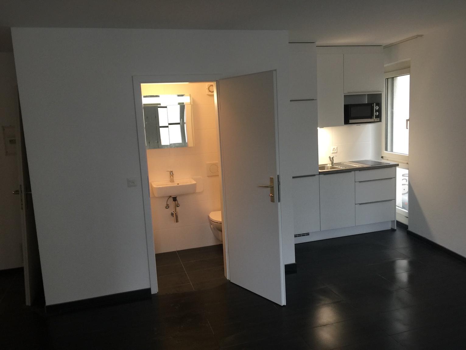 Küche und WC