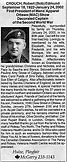 Crouch, Capt. Robert Edmund