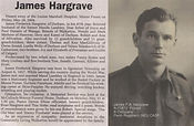Hargrave, Pte. James Archibald Frederick  J.A.G.
