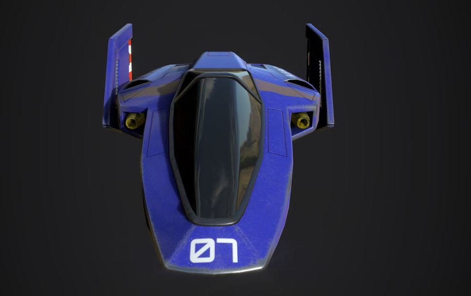 Blue Falcon Frony.JPG