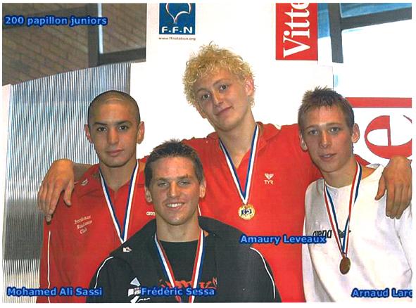 médaille du bec, podium hommes
