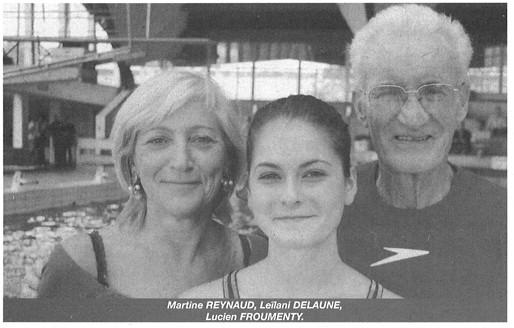 Martine Faure, Leilani Delaube, Lucien Froumenty
