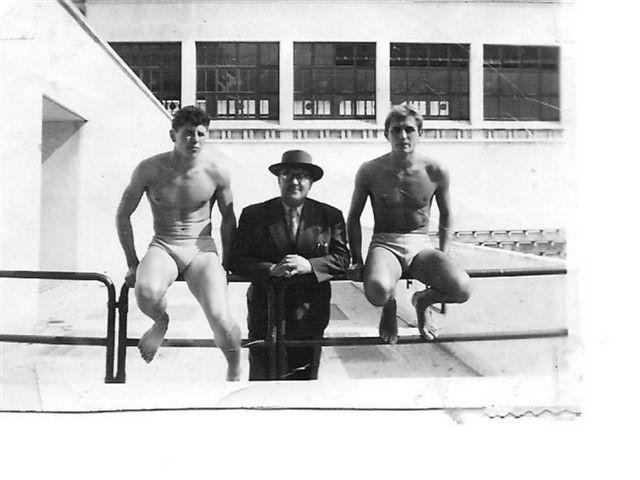 Nageur du BEC à la piscine Judaique
