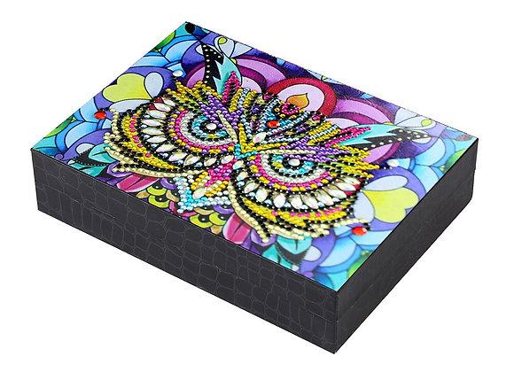 DIY Diamond Painting Jewelry Storage Box