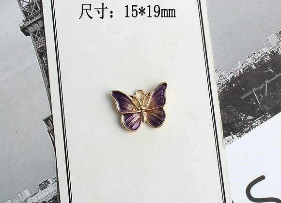 10 PCS  Butterfly Shape Charm DIY Jewelry
