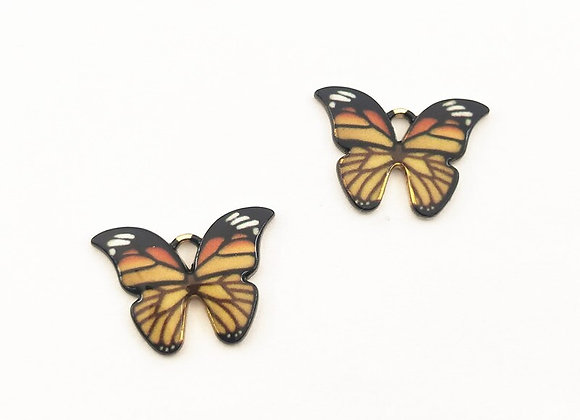 10PCS Butterfly Pendants   DIY Jewelry