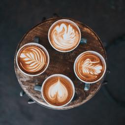 mmmmm coffee (and pretty latte art)