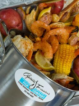 Captain Frazier's Seafood Boils