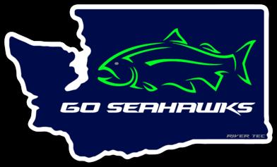 Go Seahawks Decal