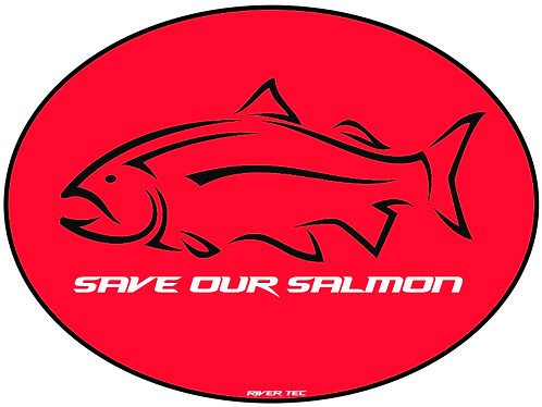 Save Our Salmon Decal