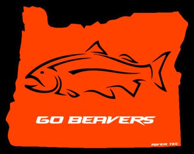 Go Beavers Decal