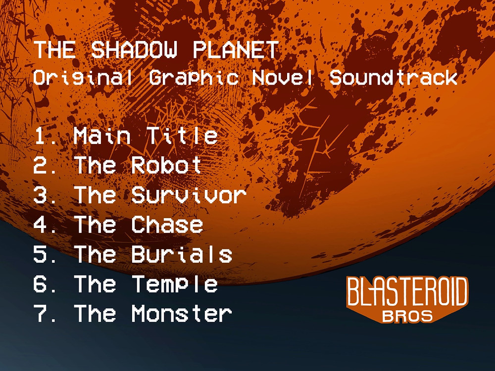All the tracks from The Shadow Planet Original Soundtrack