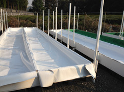 Trough liner install