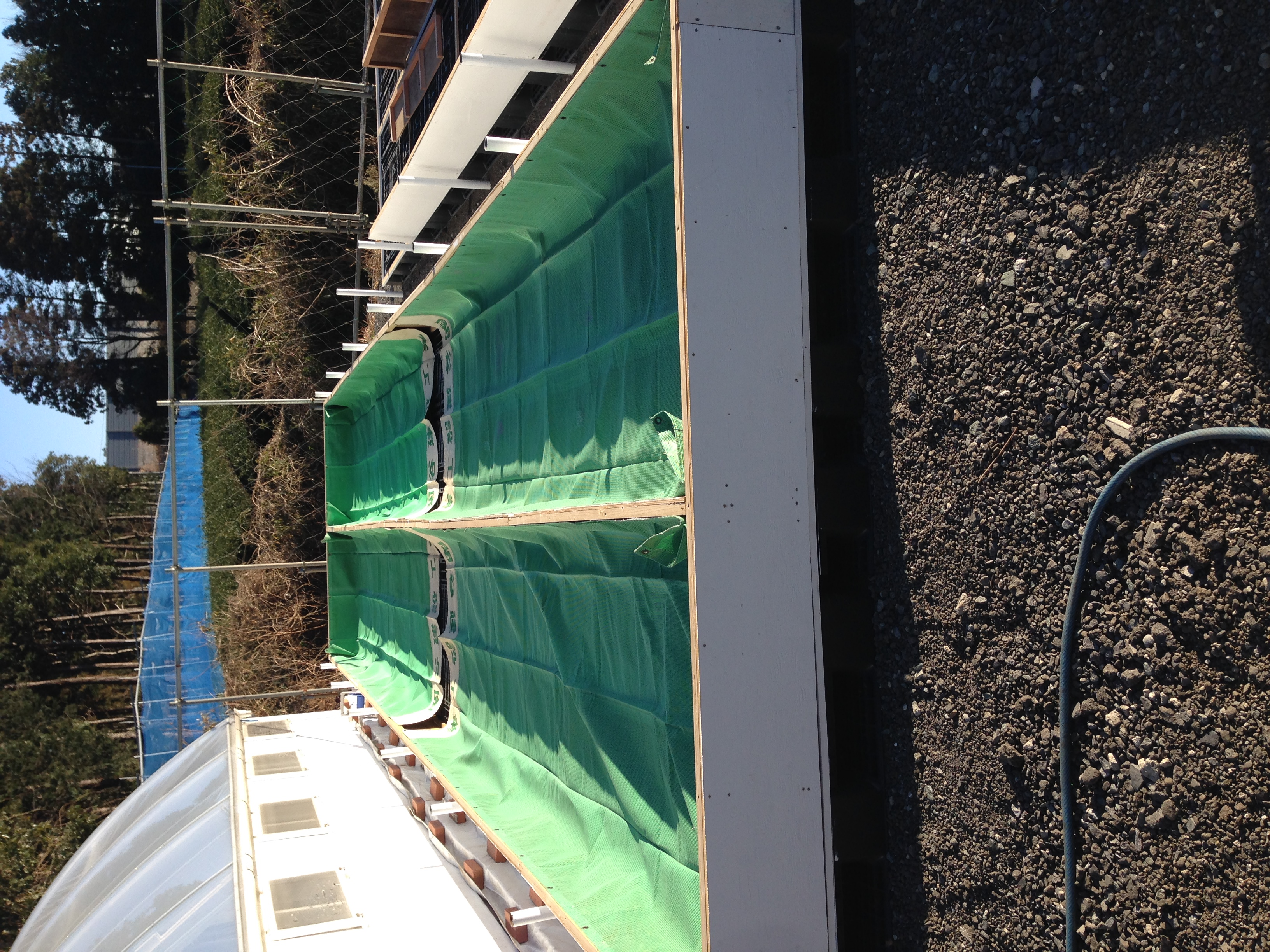 Trough liner protection