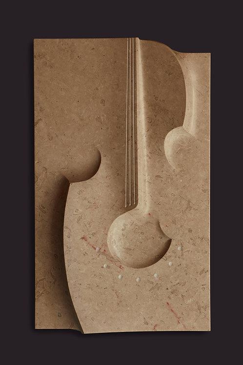 Violinenrelief